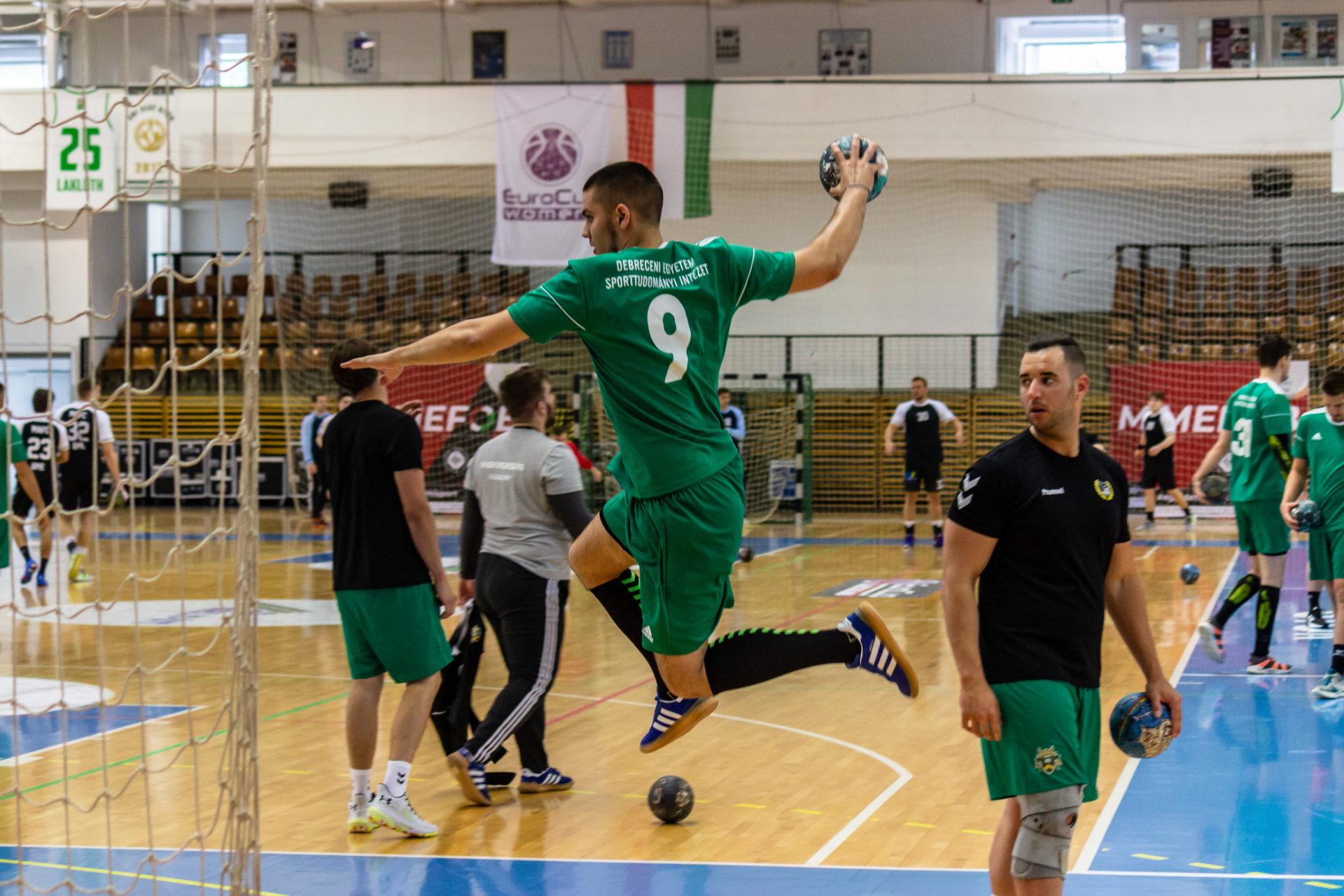 Debreceni helytállás a kézilabda egyetemi bajnokságban