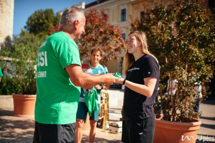 A rákbetegekért futottak a Pécsi Tudományegyetemen